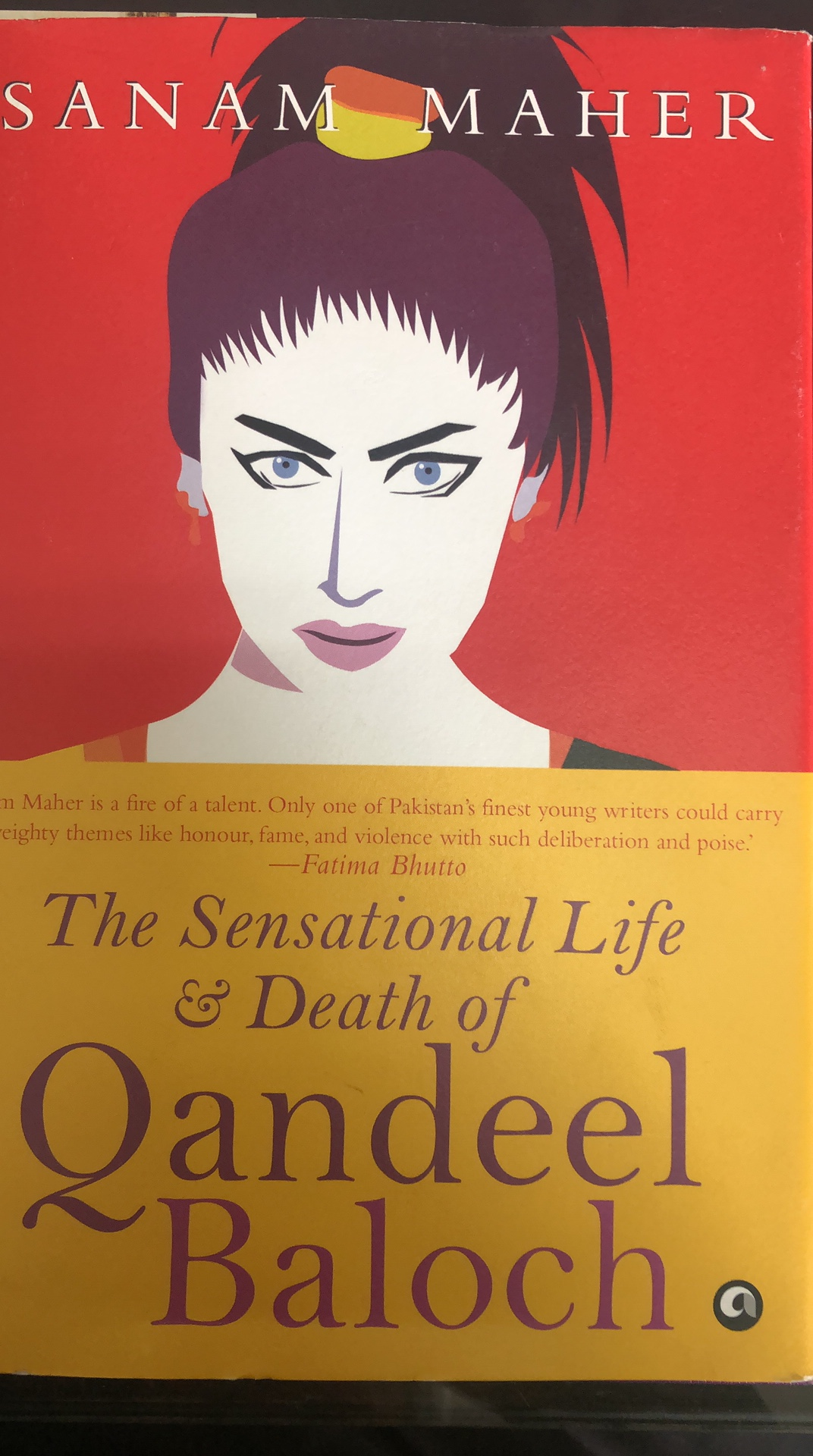 Book on the life of Qandeel Baloch is now available in